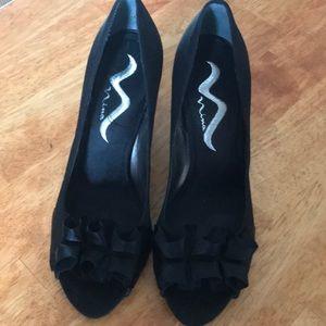 Nina black heels